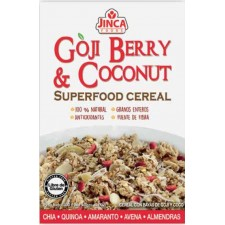 Cereal de Goji berry y coco sin gluten