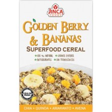 Cereal de golden berry y banano sin gluten