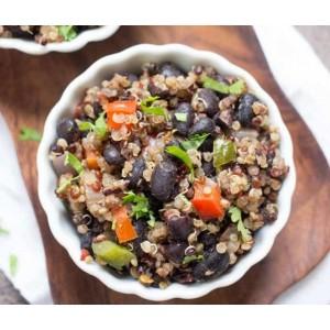 Gallo pinto de quinoa