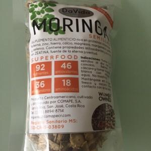 Moringa en Semillas Orgánica