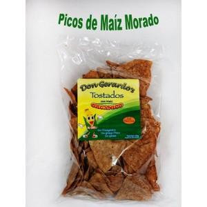 Chips de maíz morado orgánico