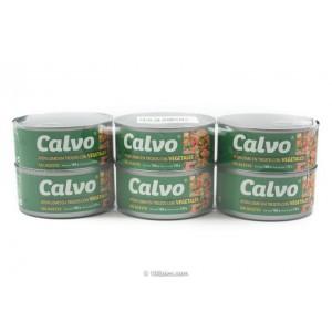 Atún con Vegetales Calvo