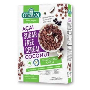 Cereal Libre de azucar ACAI Y COCONUT Gluten Free - 200grs