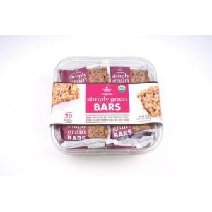 5 unidades Barras orgánicas de grano simple El camino Real Bakery