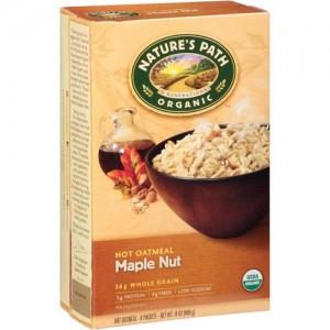 Cereal Avena Original Maple Nut Oatmeal Organico -  400grs