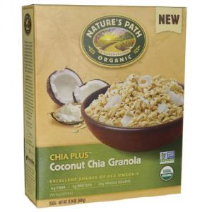 Cereal Organico Granola Coconut chia - 340grs