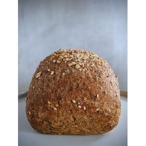 Pan integral con semillas -  Café Kracovia