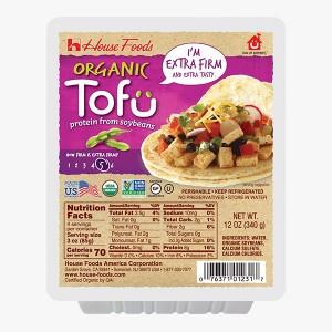 Tofu Orgánico Extra Firme - House Foods 340g
