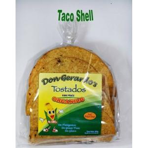 Tortillas de maíz amarillo orgánico para tacos