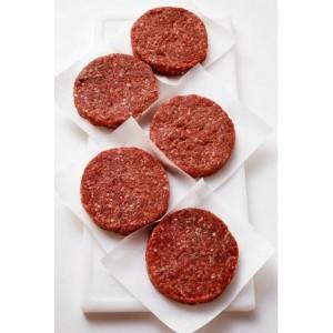 Tortas 100% carne de bufalo (4 unidades)