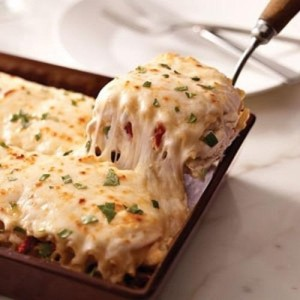 Lasagna de Pollo-Pasta Integral