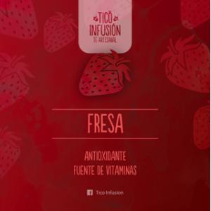 Té Artesanal-Fresa