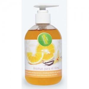 Jabón Liquido (Naranja y Vainilla) Orgánico