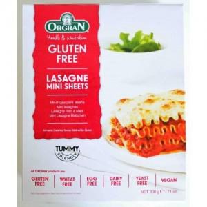 Pasta para Lasagna-sin gluten