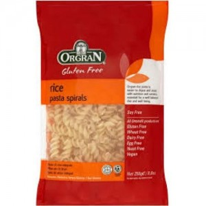 Pasta Espiral de Arroz & Maiz - Sin Gluten