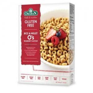 Cereal  de Arroz Integral - Mora Silvestre - Sin Gluten