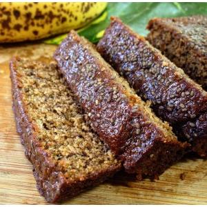 Queque de Banano y Chia