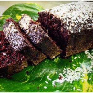 Queque de Cacao y Coco