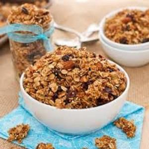 Granola de Quinoa Sin Gluten