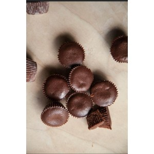 Fudgy Cupcake de chocolate