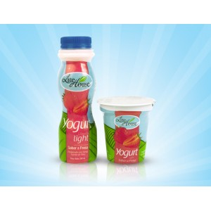 Yogurt Liquido Fresa (light)