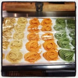 Pasta fresca Zanahoria Orgánica Fetuccini
