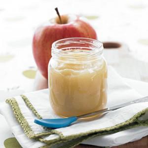 Pure de Manzana Orgánica Natural