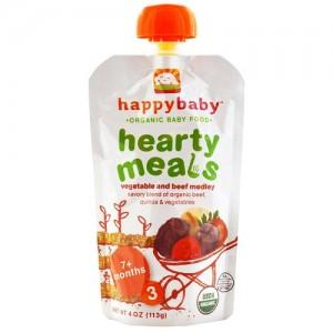 Happy Baby Paso-3 Carne ,Vegetales y Quinoa.