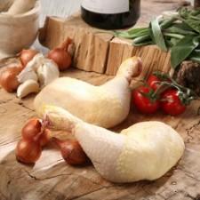 Muslo de Pollo Entero con Hueso de Pastoreo (1 kilo)
